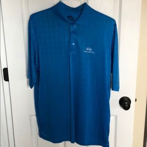 Infiniti golf shirt by Slazenger